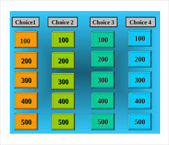 free jeopardy template 8 free word pdf ppt documents