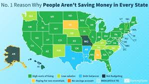which state has the lowest cost of living here s why americans in every state can t save more money