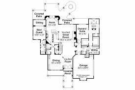 House Plans With Vaulted Great Room by Craftsman House Plans Breckenridge 30 483 Associated Designs