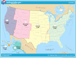 usa map with time zones and cities usa time zone map with cities topographic and us zones idaho