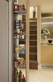 Roll Out Pantry Shelves by Pull Out Pantry In Galley Kitchen Eclectic Kitchen Seattle
