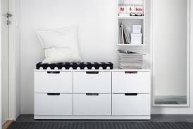 ikea small storage five storage ideas to take you from no space hallway with bench