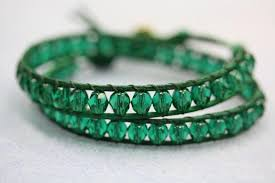 bracelet wrap diy images Emerald leather wrap bracelet tutorial diy bead world JPG