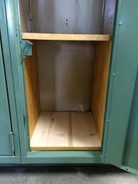 Wood Shelves Build by Making Wooden Locker Shelves Thriftyfun