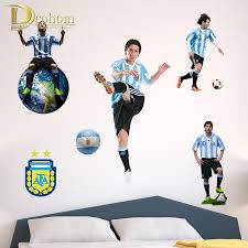 new designs soccer 3d wall stickers for kids rooms home decor
