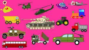 army vehicles for kids street vehicles spaceship u0026 construction