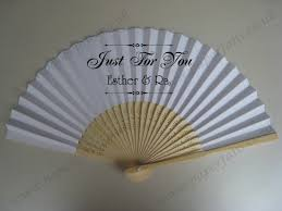 personalized wedding fans custom made printable folding fans 0 74