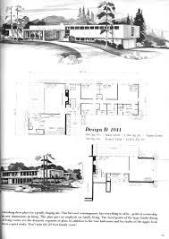 midcentury house plan mid century floor plans pinterest mid