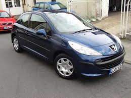black peugeot used peugeot 207 urban for sale motors co uk