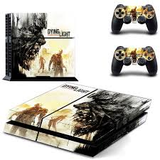 dying light playstation 4 ps4 dying light skin decal sticker for playstation4 console and 2