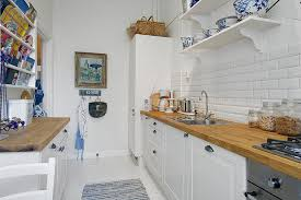 Narrow Kitchen Ideas Small Narrow Kitchen Design Homepeek