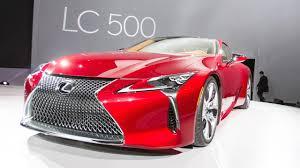 lexus lc 500 detroit 2016 detroit auto show lexus lc 500