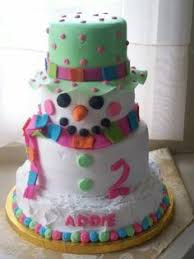coolest snowman birthday cake winter wonderland theme snowman