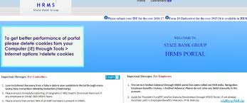 Sbi Online Help Desk Sbi Hrms Irj Login At Onlinesbi Com