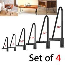 Hairpin Coffee Table Legs Unbranded Furniture Table Legs Ebay