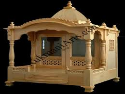 beautiful wood temple designs for home ideas decorating design