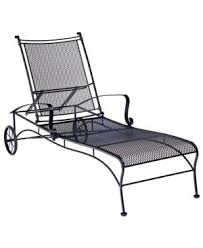 Wrought Iron Chaise Lounge Commercial Outdoor Furniture Wrought Iron Chaise Lounges