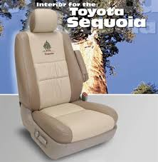 Seat Upholstery Toyota Sequoia Katzkin Leather Seat Upholstery Kit Shopsar Com