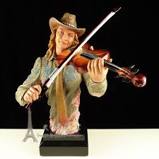 crafts arts home decoration american jazz band figures