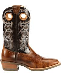 ariat crossfire performance western boots square toe country