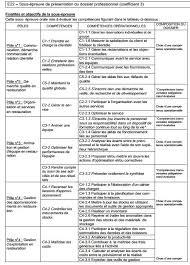 dossier bac pro cuisine fiche bilan de compétences bac pro cuisine unique site pédagogique