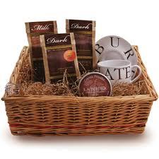 hot chocolate gift basket world s finest gourmet chocolate l a burdick s