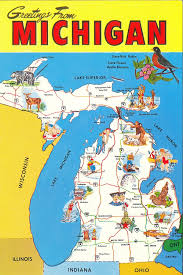 map of michigan maps update 6821024 michigan tourist attractions map michigan