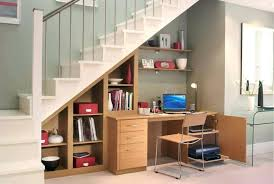 bookcase under stairs wooden stair step bookcase and storage