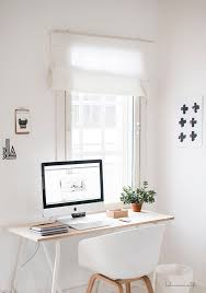 best 25 white wood desk ideas on pinterest diy office desk