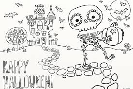 skeleton coloring pages for preschoolers new page to print free