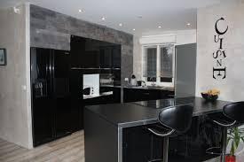cuisine noir laqué cuisine noir laqué ikea cuisine en image