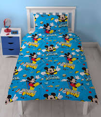 Mickey Duvet Cover Mickey Mouse Cool Single Duvet Cover Set U2013 Characterlinens