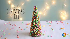 diy christmas tree thermocol ball youtube