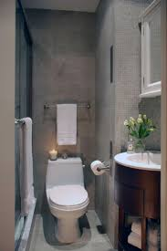 appealing interior design for small bathroom with white porcelain