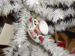 seasons for all at home a white feather christmas tree for the