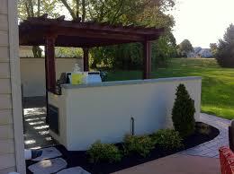 Pergola Outdoor Kitchen Outdoor Kitchen Renovation Lancaster Pa C E Pontz Sons