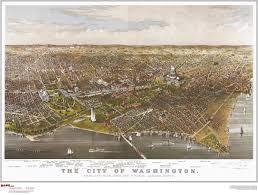 washington dc map puzzle washington dc antique wall map maps