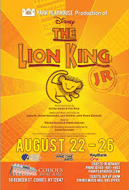 giveaway win tickets lion king jr cohoes music hall