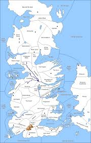 Map Westeros Game Of Thrones Dipwiki