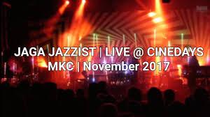 jaga jazzist live mkc skopje youtube