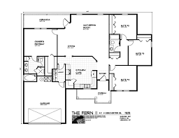 open plan house floor plans designs