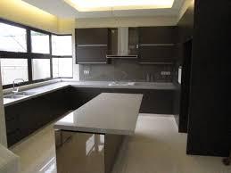 kitchen cabinet white kitchen counter backsplash dark brown oak