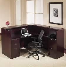 Office Star Computer Desk by Office Star Kentyp19 Kenwood Series Real Wood Receptionist Desk