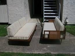 danish mid century modern platform couch sofa daybed hvidt