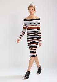 karen millen jumper dress multicolour women dresses knitted w