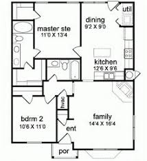 Home Design 700 35 Ft X 20 Ft Floor Plans Click To View Print Floor Plans