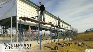 Steel Car Port Elephant Structures Custom Built Metal Carports Custom Steel