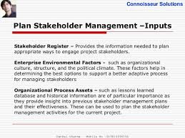 project stakeholder management pmbok 5