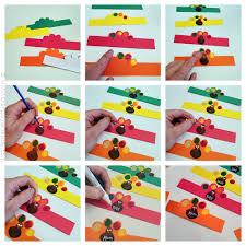 thanksgiving napkins paper turkey napkin rings from fingerprints crafts by amanda