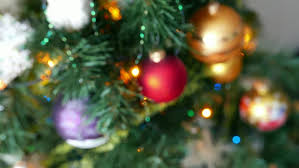 itwinkle christmas tree colorful twinkle lights and bokeh in defocus christmas tree toys